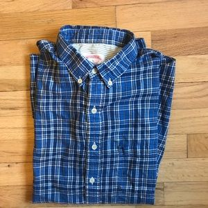 Brooks Brothers Extra Slim fit plaid button down